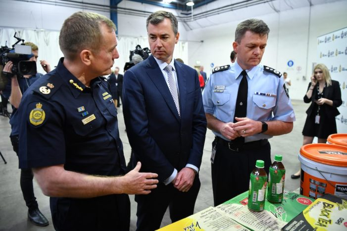 Australian Police Seize Largest Ever Haul of Ephedrine after Tip-Off from Thai Authorities