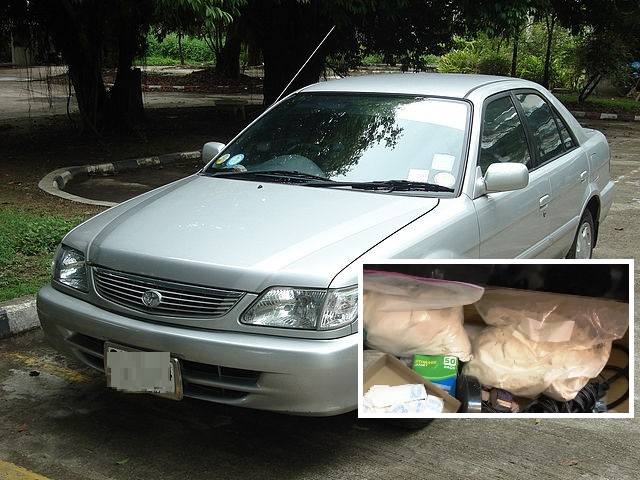 15 Year-Old Boy Busted Transporting 16Kg of Heroin from Chiang Rai