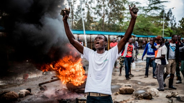 Protests Turn Deadly Amid Kenyan Election