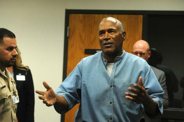 """The Juice """"O.J. Simpson"""" Out of Prison, Granted Paroled after 9 Years"""