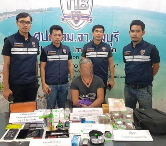 35 Year-Old Russian Man Arrested in Pattaya for Drug Trafficking