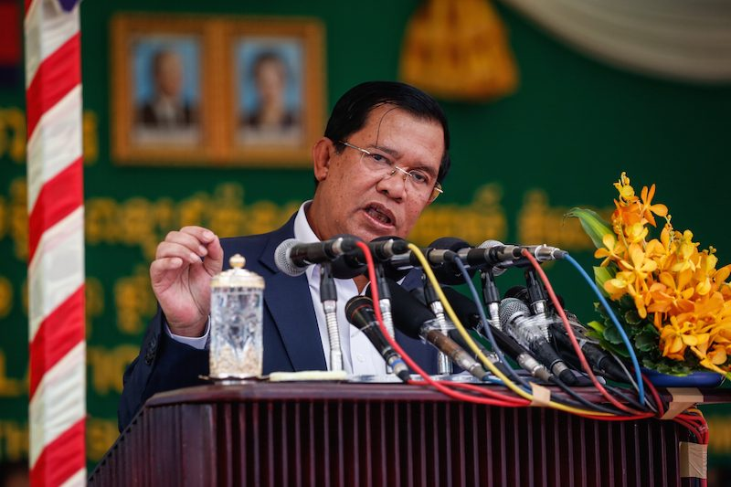 Cambodia Prime Minister Threatens to Deploy Troops Against Opposition