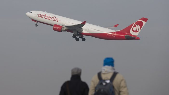 Germany's Bankrupt Air Berlin Operates its Last Flights