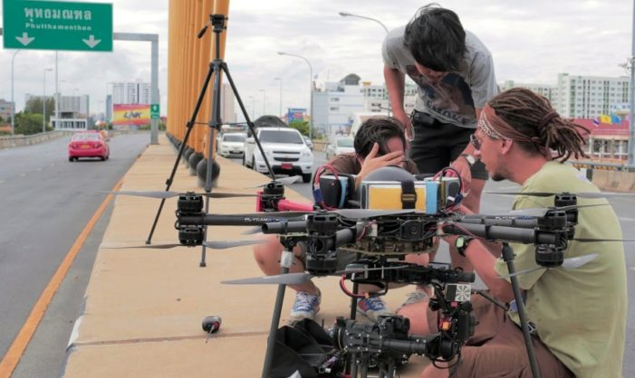 Thailand Regulators to Ban Unregistered Drones to Deal with the Rampant Use