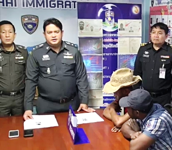 Thai Immigration Police Nabs Two Nigerians with Fake Passports