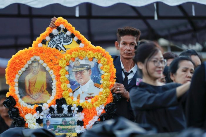 5 Day Funeral of King Bhumibol Adulyadej Commences in Thailand