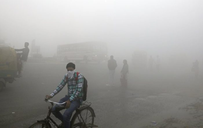 Anger Rises as Toxic Air Chokes India's Capital