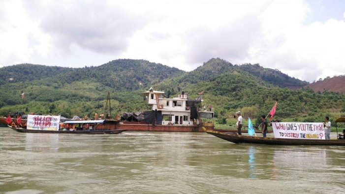 Environmentalists Say Fight to Save Mekong Rapids from Blasting Not Over