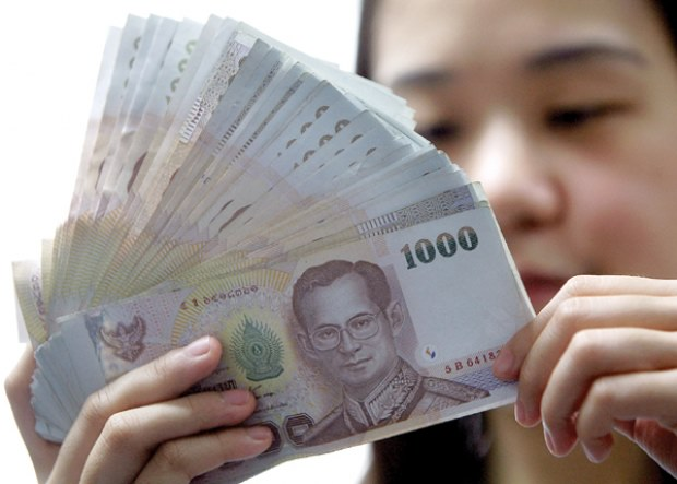 Thai Baht Rises to Its highest Level Against US Dollar in 2-1/2 Years