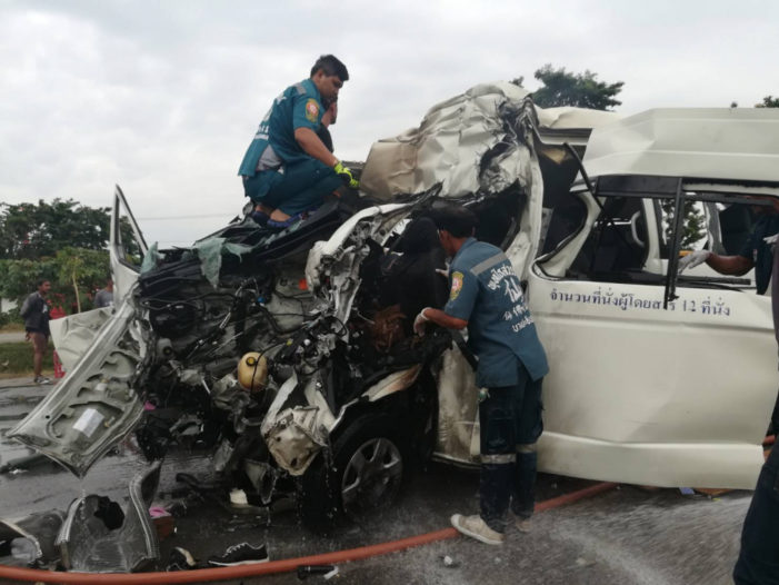 Thai Police Probe Accident that Killed 4 Japanese Tourists
