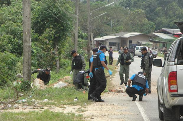 Two Injured after Roadside Bomb Explosion in Southern Thailand