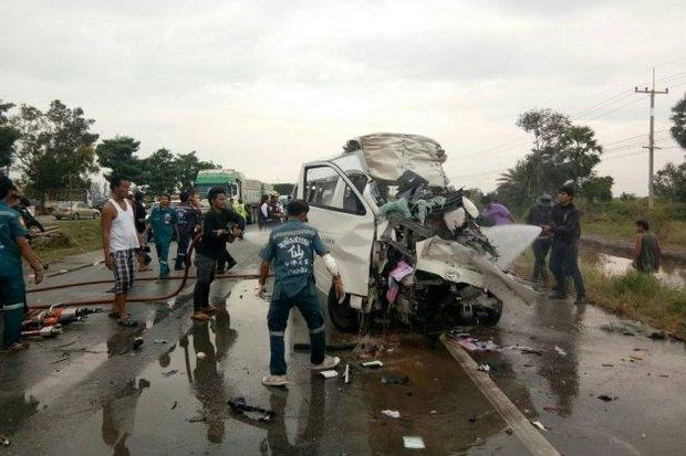 Van Driver Charged in the Deaths of Four Japanese Tourists and Thai Tour Guide
