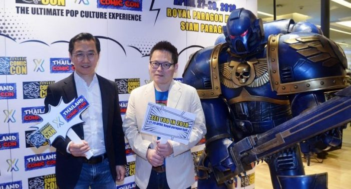 "Get Your Geek On ""Big Bangkok Comic Con"" Announced for April 27-29 at Royal Paragon Hall"