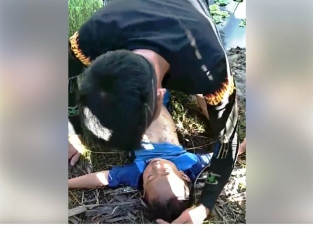 Chiang Rai Man Saves Four Year-Old Boy With CPR after Drowning