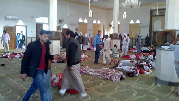 Militant Muslims Attacks Egypt Mosque Killing 235 Worshipers