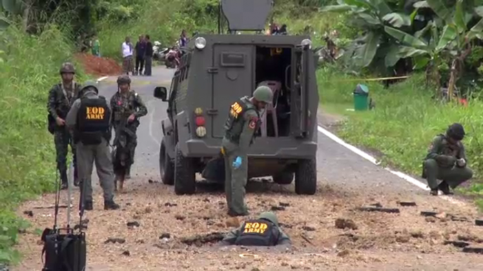 Four Army Rangers Wounded in Roadside Bomb Attack in Southern Thailand