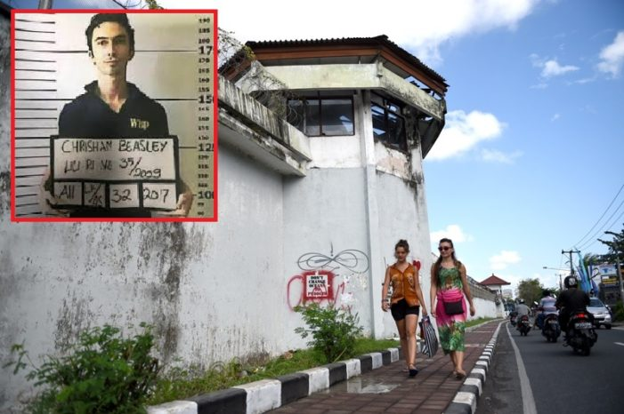 American on the Run after Busting Out of Bali Prison