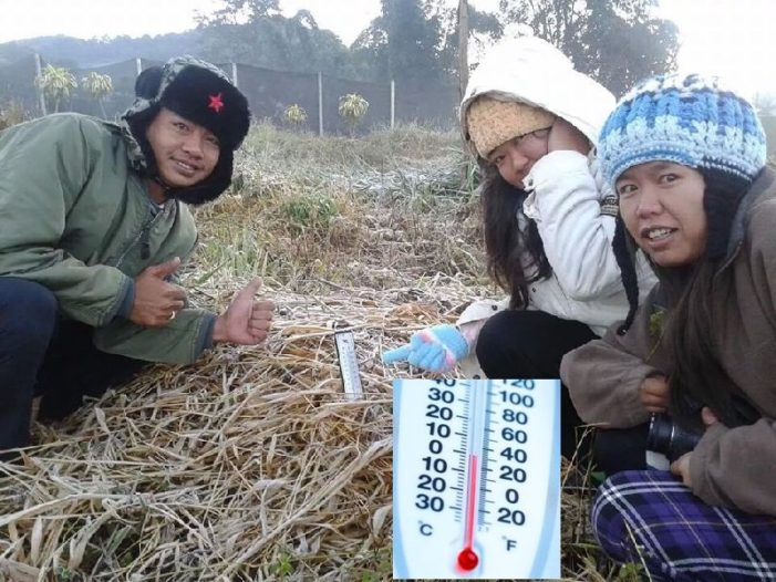 -2 Degrees Celsius Recorded at Chiang Mai's Doi Inthanon as Temperatures Continue to Drop in Northern Thailand