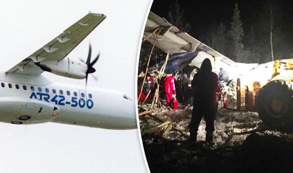 Plane Carrying 25 Crashes in Western Canada, Miraculously There Were No Fatalities