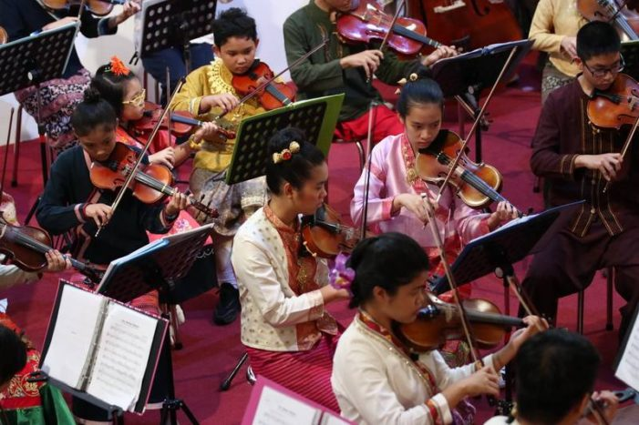 """Chiang Rai Youth Orchestra Presents Free Mini Concert  """"Christmas in The Woods"""""""
