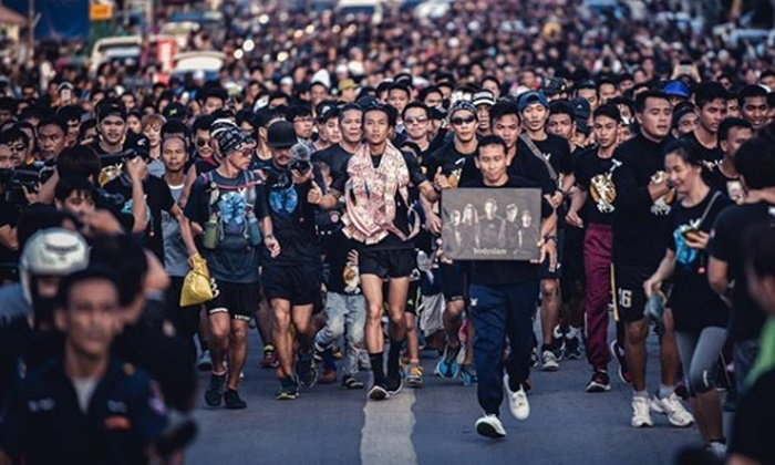 Toon Bodyslam's Charity Run to Chiang Rai Close to 700-Million-Baht Goal