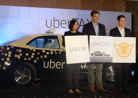 Uber Strikes Taxi Partnership in Thailand