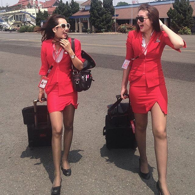 Are AirAsia, Firefly stewardesses' uniforms too sexy?