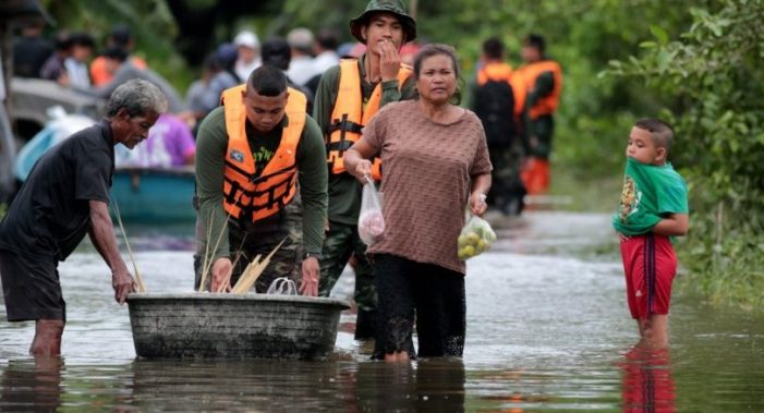 Massive Flooding has Affected More than 256,000 Families in Southern Thailand