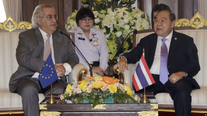 European Union To Restore Political Relations With Thailand
