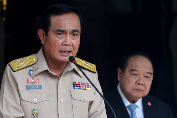 Thailand PM Tells Media to Lay Off His Deputy PM Over Luxury Watch and Ring