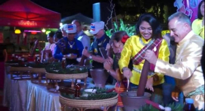 Foreigners with Thai Partners Living in Khon Kaen Treated to fun Outing at International Food Fair