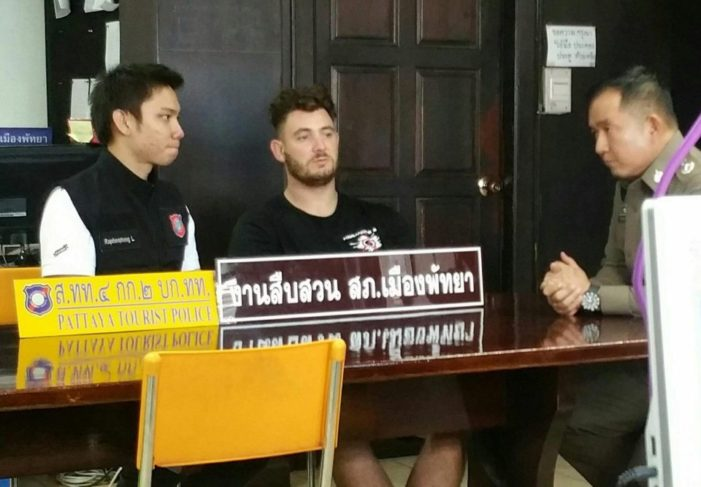 25 Year-old Briton Arrested for Death of Pattaya Bar Worker
