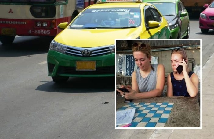 Bangkok Taxi Driver Arrested for Abandoning and Stealing from Two Young British Women