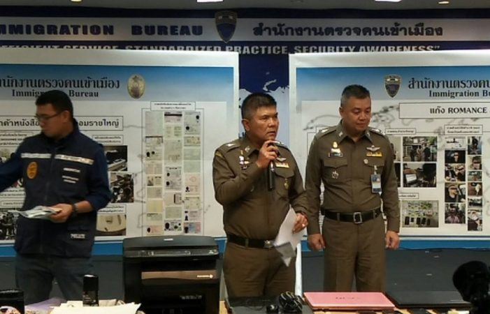 Nigerian Romance Scammers Busted in Bangkok