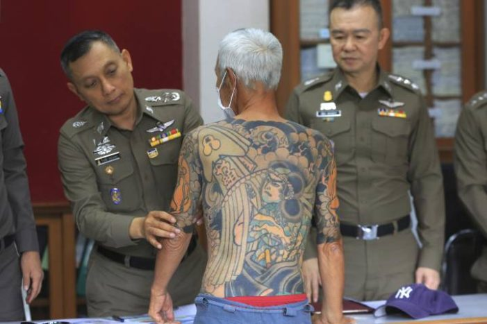 74 Year-Old Japanese Yakuza Boss Arrested in Thailand After His Tattoo Photos Go Viral