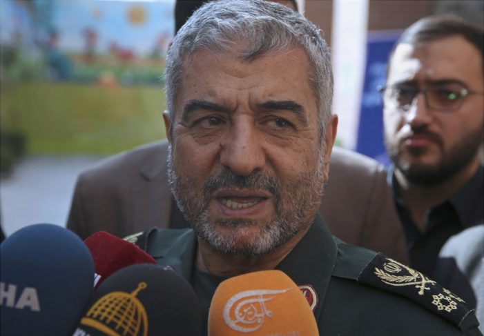 Iran's Revolutionary Guard Report Their Security Forces Have Ended Unrest
