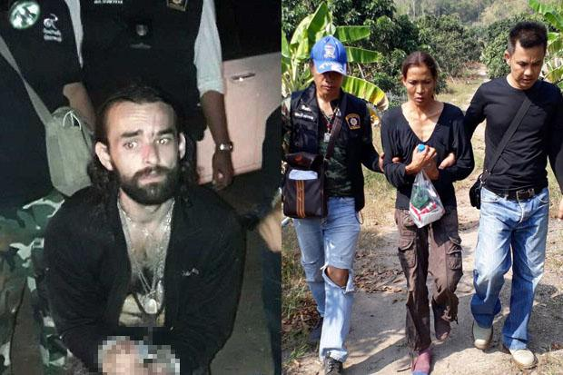 Frenchman and the Thai Wife of Murdered Italian Expat Captured by Thai Police