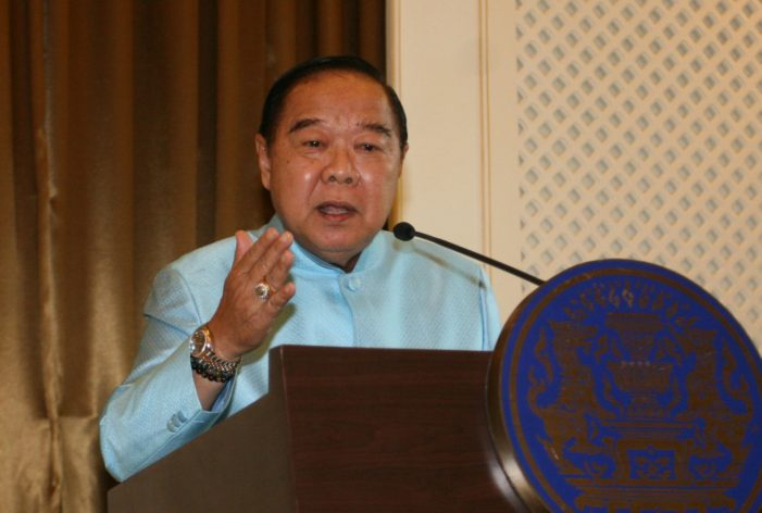 "Thailand's ""Luxury Watch Deputy PM"" Warn Officials they Rick Malfeasance Charges Over Yingluck"