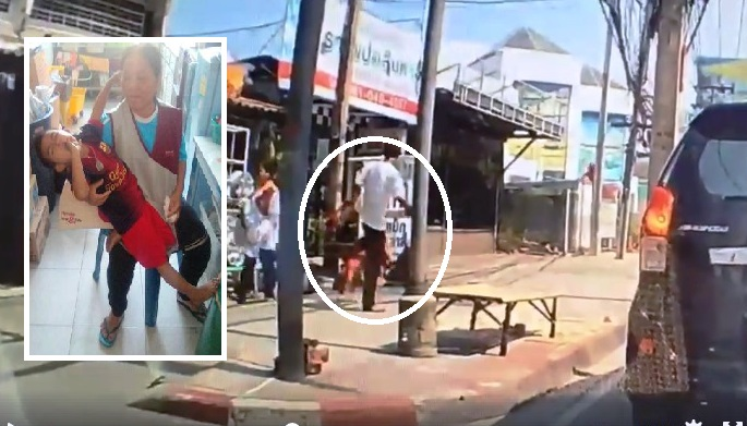 Thai Police Hunt for Man after He High Kicks Little Boy in the Head in Bangkok