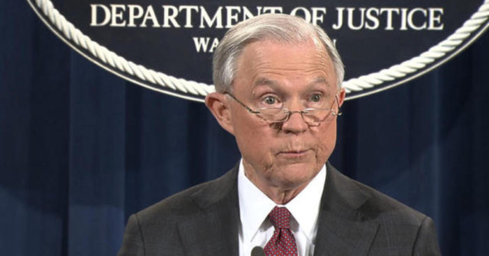 US Attorney General Jeff Sessions Tightens Anti-Marijuana Policy