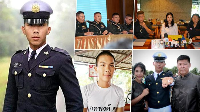 "Family to Sue Army Over Death Probe of Cadet Pakapong ""Moei"" Tanyakan"