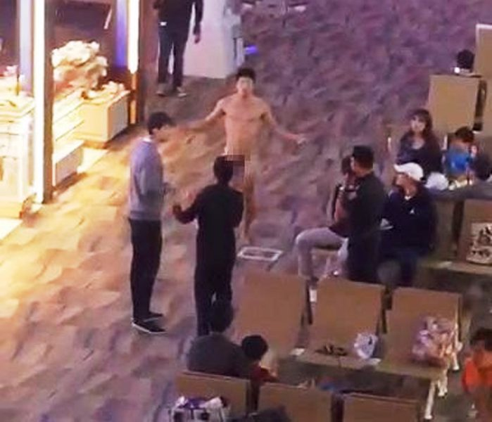 American Tourist Overdoses on Viagra and Wanders Naked Through Phuket Internationa Airport