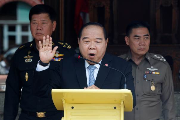 "Thailand's Deputy PM Prawit, Ready to Resign ""If the People Don't Want Me"""