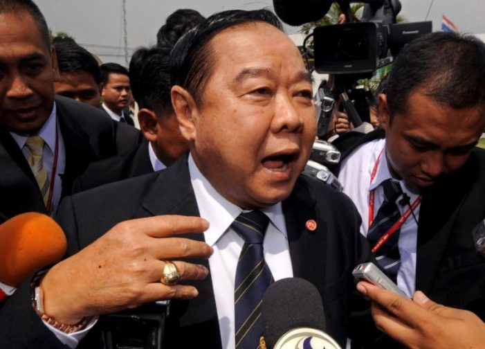 Thailand's Deputy Prime Minister General Prawit Say's Wristwatch Case is Over