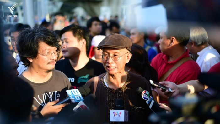 Thai Junta Files Charges Against Democracy Activists