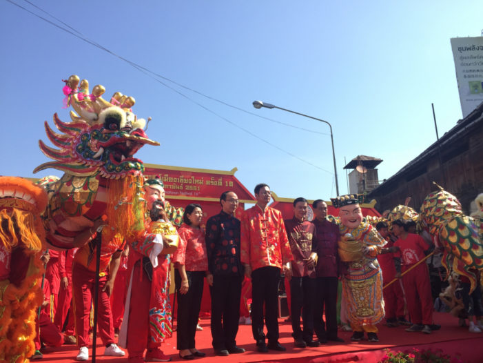 16th Chinatown Festival Kicks Off in Chiang Mai City
