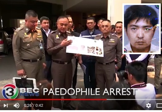 Japanese Man Arrested in Bangkok for Possessing Kiddie Porn