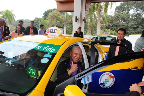 Taxi OK Passenger Safety Program Launched in Chiang Rai