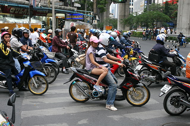 Thailand's Government Eyes Pollution Tax for Motorcycles
