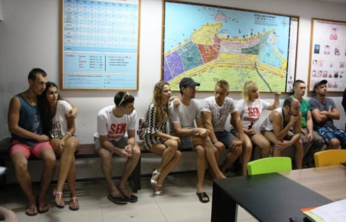 Ten Russian Sex Trainers to be Blacklisted and Deported from Thailand